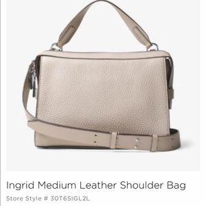 Michael Kors Ingrid medium leather shoulder bag